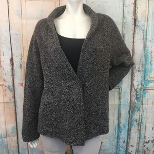 EILEEN FISHER MerinoWool Cashmere Cardigan Sweater